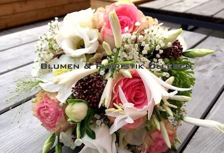 Brautstrauß Blumen Ollesch München