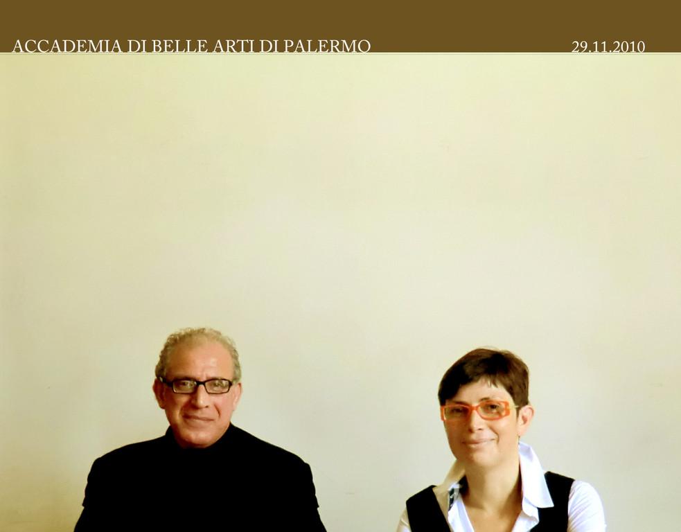 Prof. Francesco Gallo con la Dott.ssa Raffaella Sgubin 29 .12. 2010