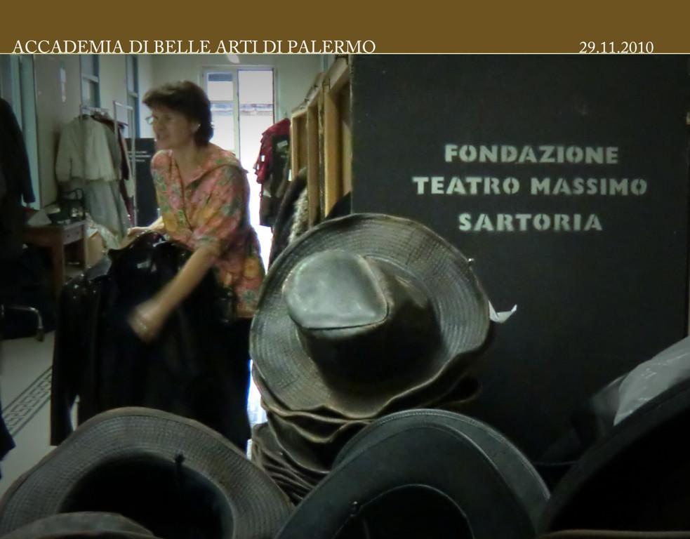 Incontro con Marja Hoffmann e Giovanna Proto Sartoria del Teatro Massimo