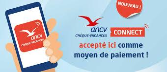 Paiement par chèque ANCV Connect accepté