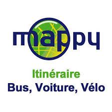 Trouvez votre itinéraire sur Mappy
