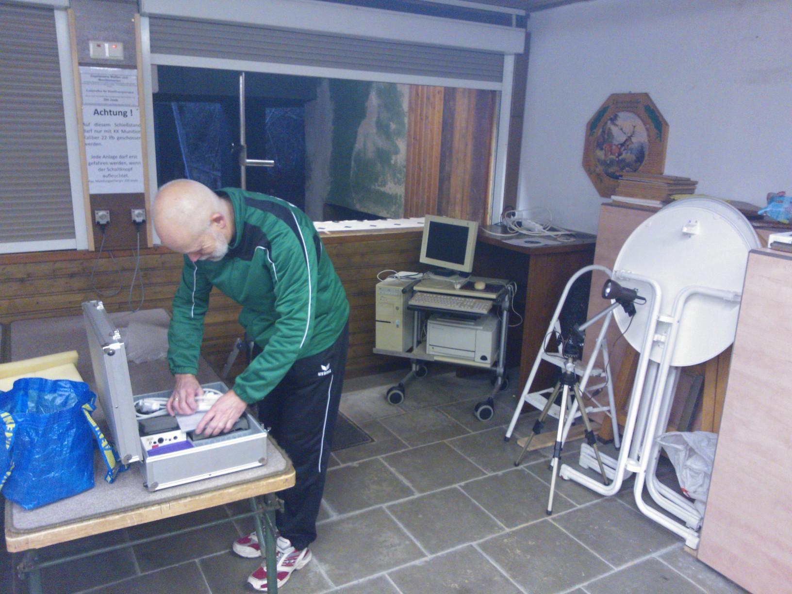Aufbau des Simulators
