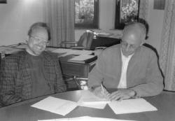 Unterzeichnung des Kooperationsvertrag
