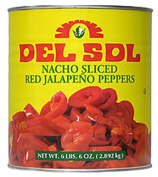 Red Jalapeño Nacho Slices