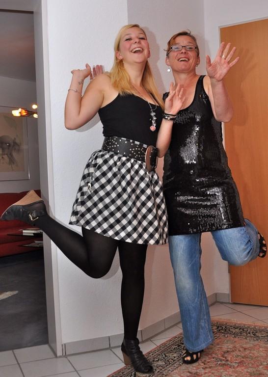 meine mum und ich.... nothing more to say