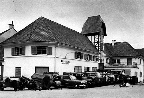 Rüsthaus im Jahr 1971