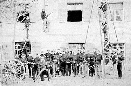 Gruppenfoto aus dem Gründungsjahr