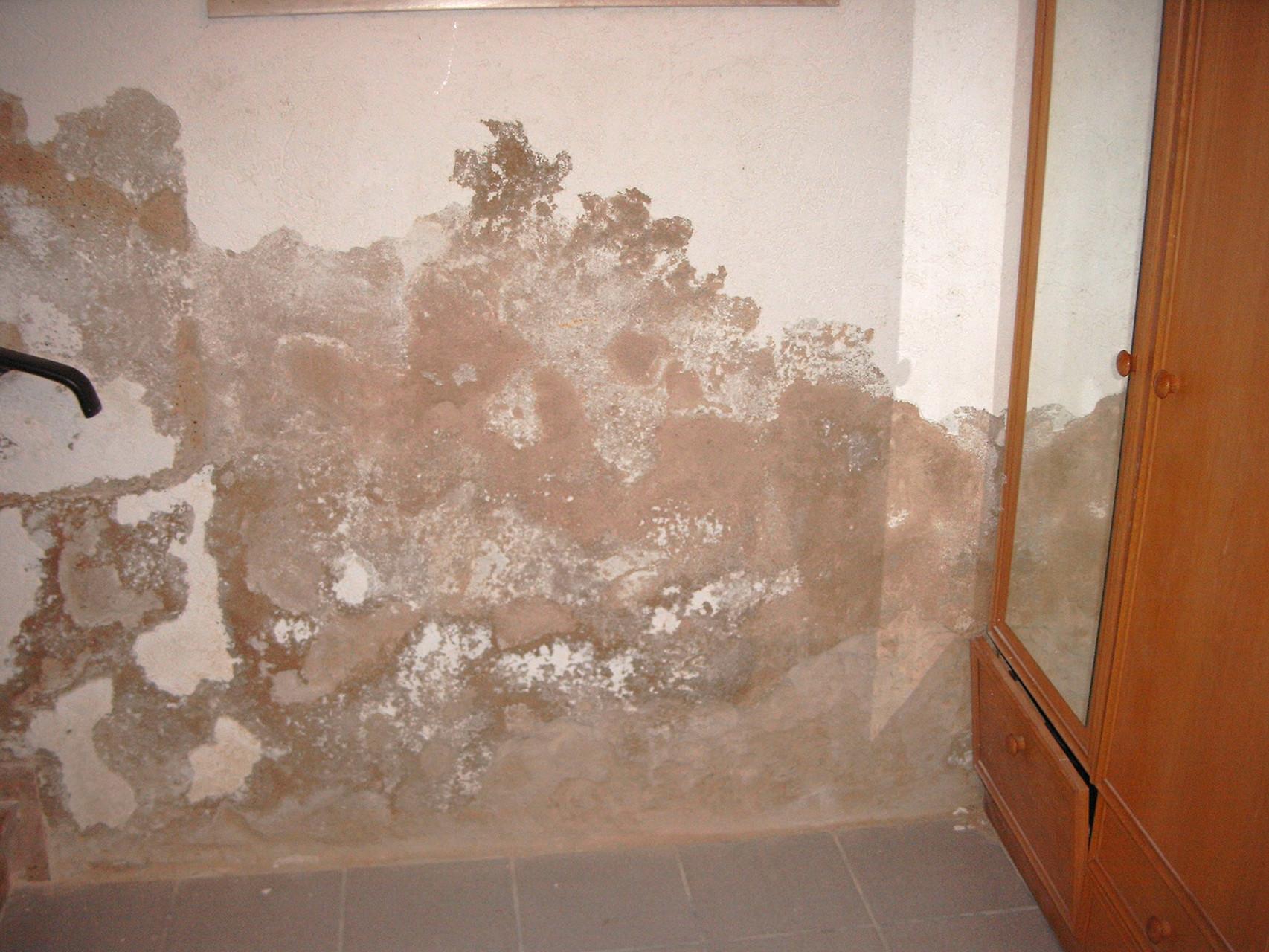 Fehlende Mauerwerkssperre