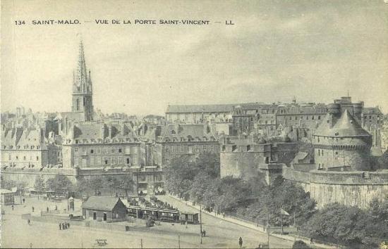 Vue de l'esplanade St-Vincent.