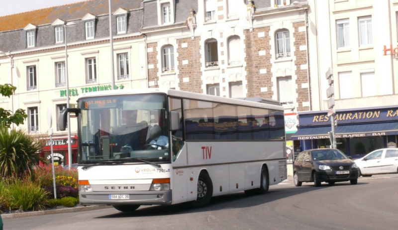 Setra S315UL, Gare Routière