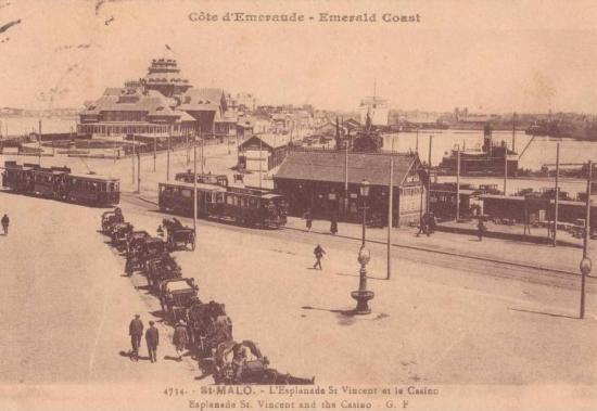 Composition électrique, au terminus de St-Vincent.