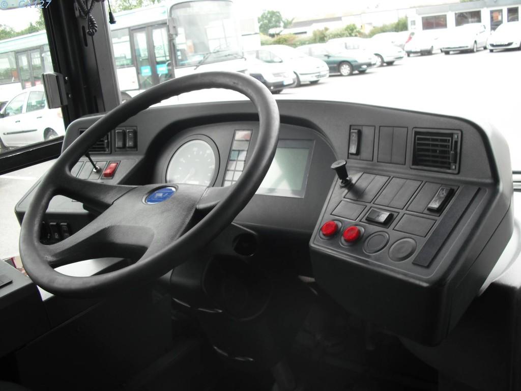 Poste de conduite d'un GX317
