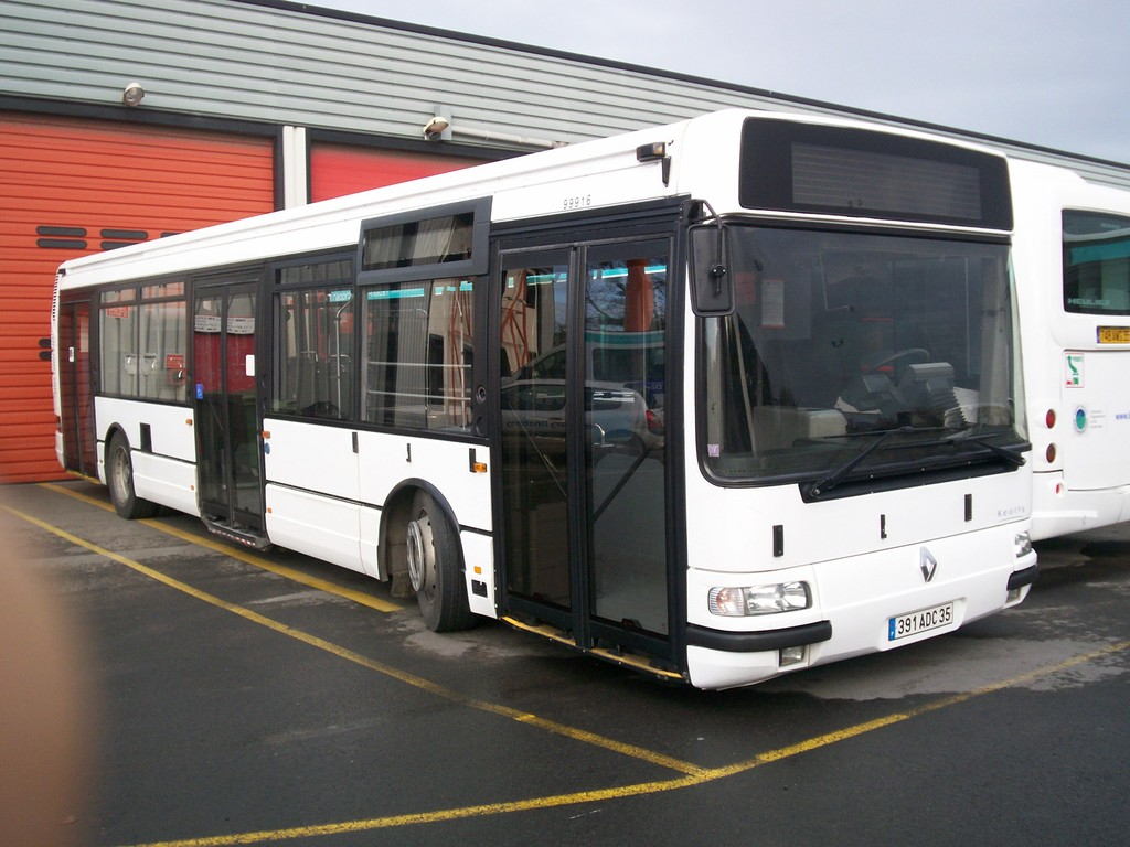 Renault Agora S, Dépôt