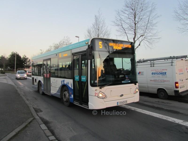 Heuliez Bus GX127 N°21, Dugauy Trouin