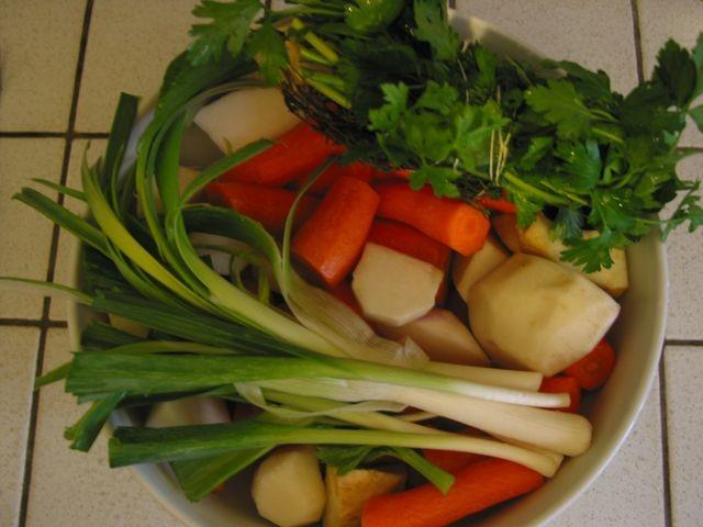 Légumes à pot au feu