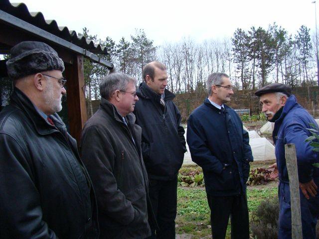 Visite Président & Directeur FNJFC en 2008
