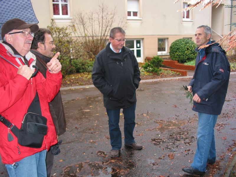 explications sur le terrain