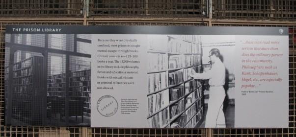 Alcatraz prison library