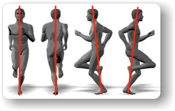 Richtige Körperhaltung beim Lauftraining