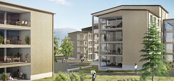 Wohnüberbauung Wijermatt, Kerns