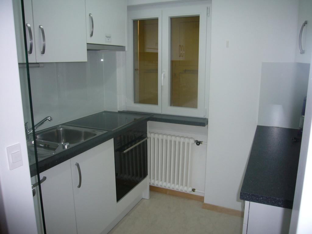 Küche mit Abwaschmaschine