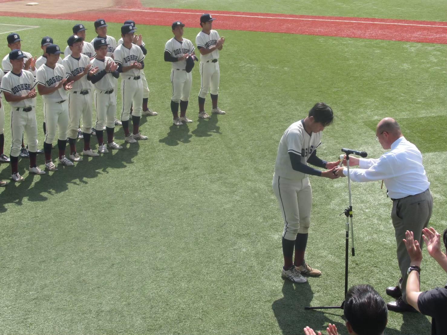 優秀選手賞:田川勇貴