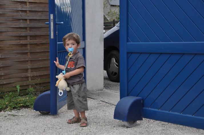 Parada segura en caso de obstáculo en cualquier punto del portón