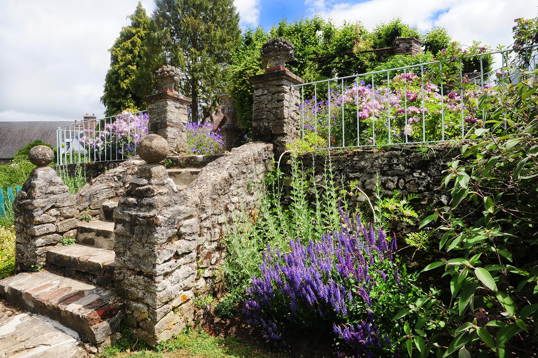 le Jardin Jaune et Bleu