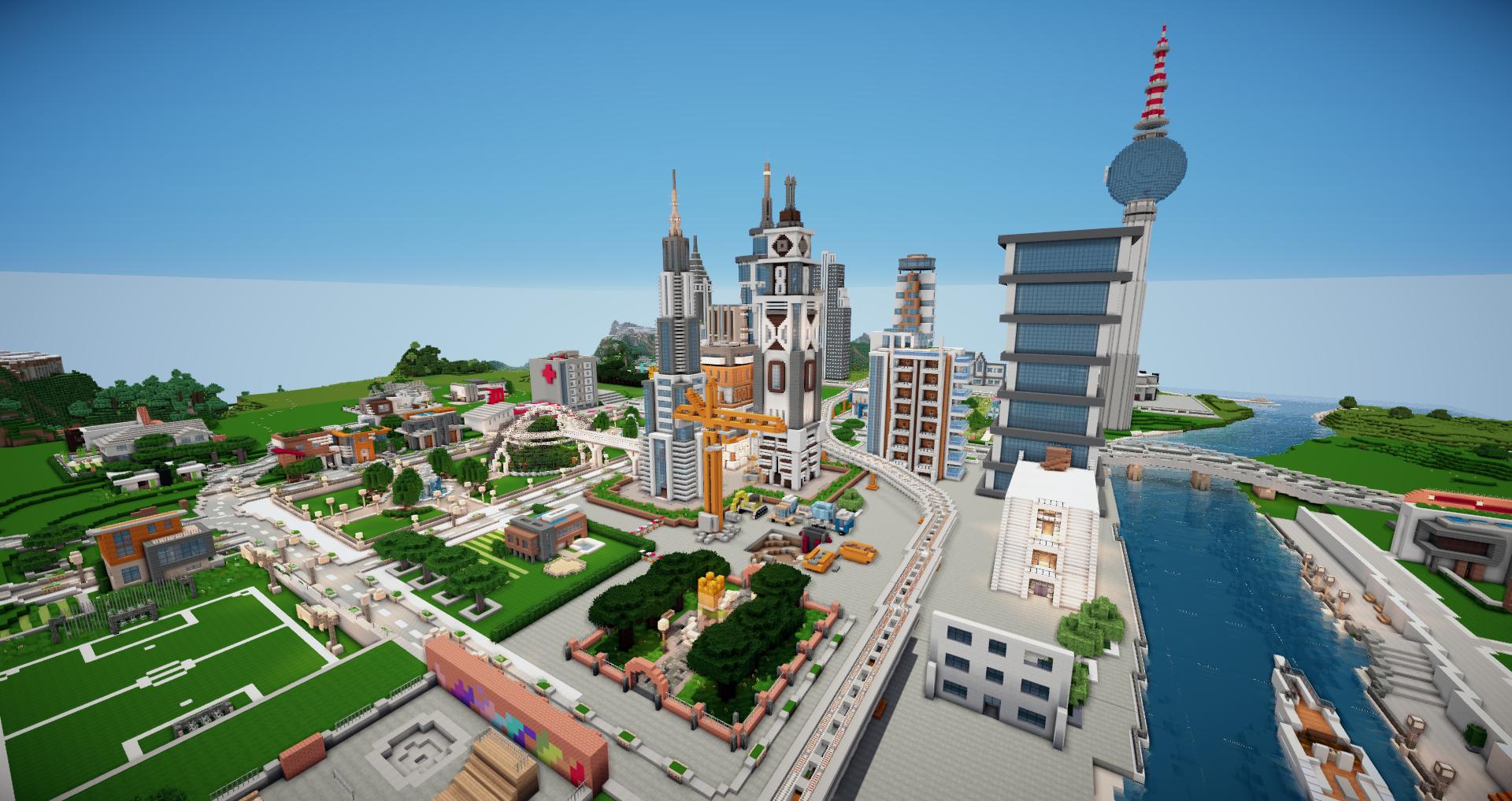 minecraft map city 1.12 2