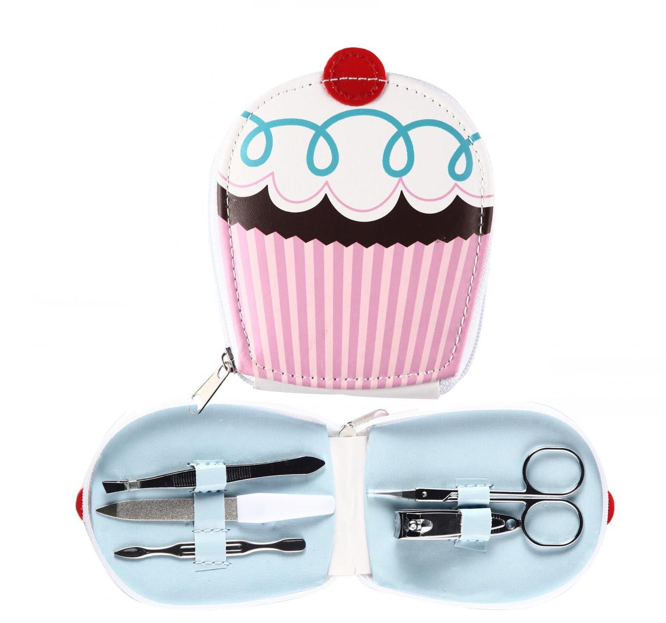 set de manicura cupcake