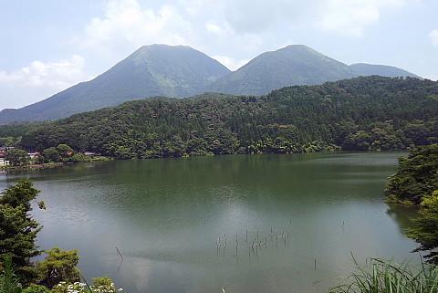 7月末の三瓶山と浮布の池