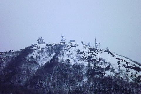 頂きのテレビ塔、通信施設