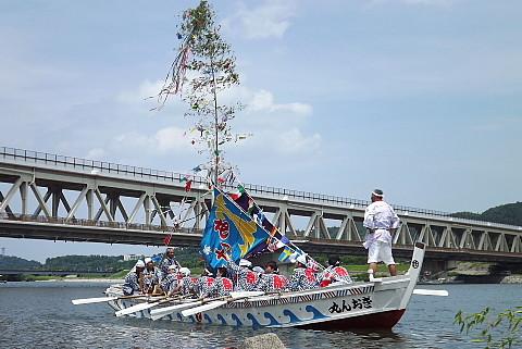 4年ぶりの船神事