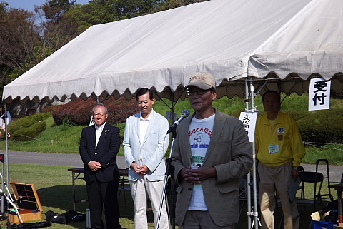 国際竹とんぼ協会の会長のお話