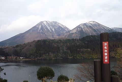 3月3日浮布からの三瓶山