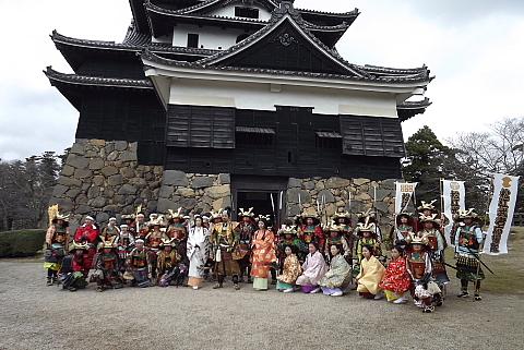 松江城で揃い組