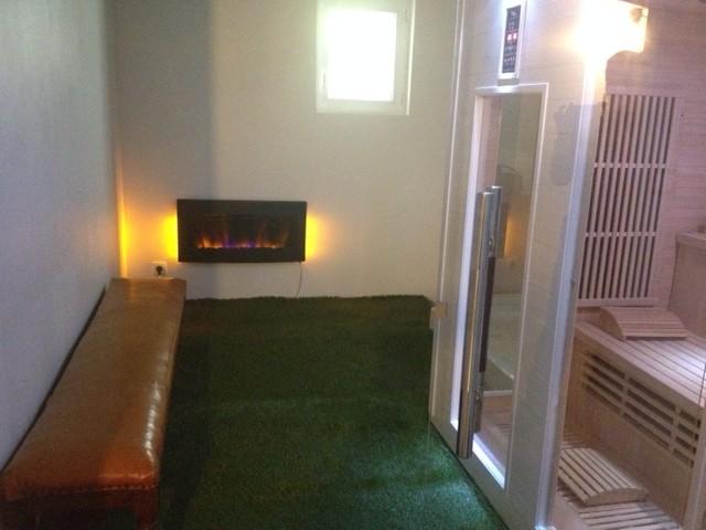 Pour vous relaxer après le ski ou la randonnée, espace bien-être avec sauna et douche hammam