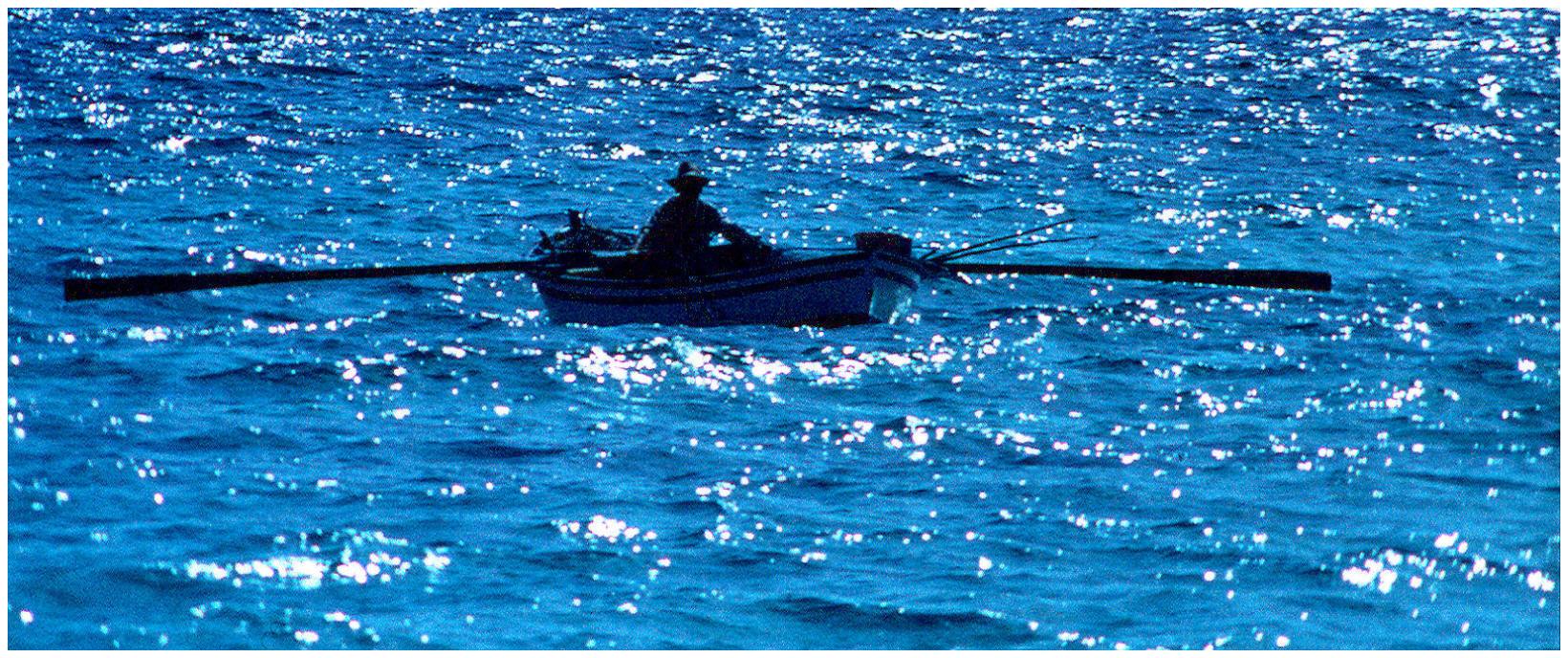 Fischer auf Ibiza