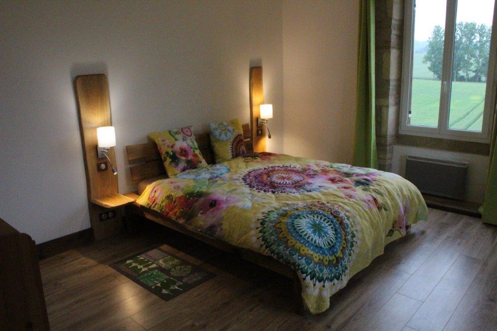 unser Zimmer mit dem Thema Holz - Midi-Pyrénées