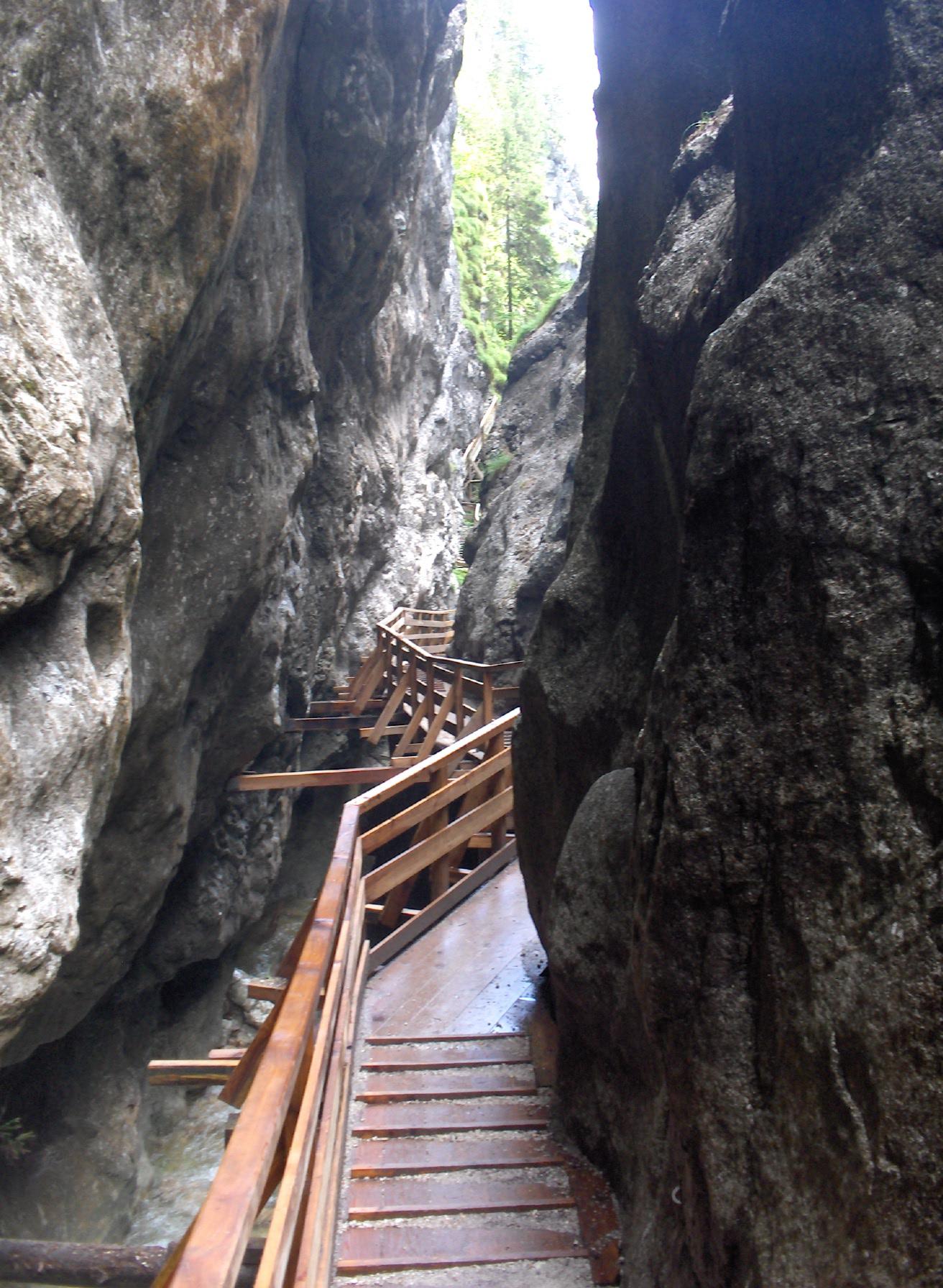Worschachklamm Gorge
