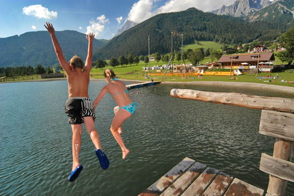 Ramsau Beach outdoor lake