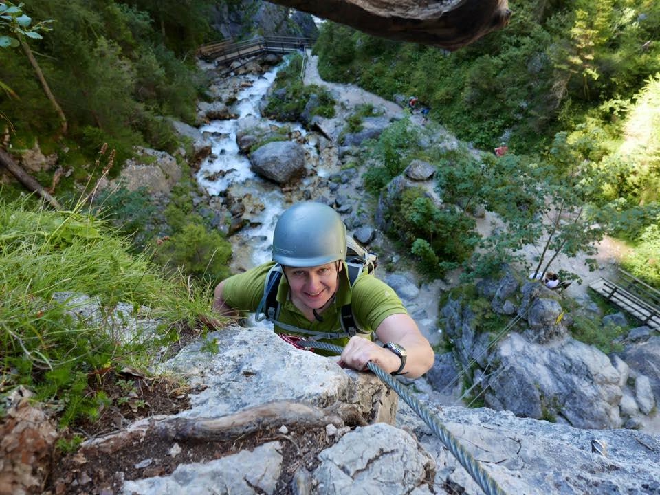 Klettersteig, Silberkarklamm