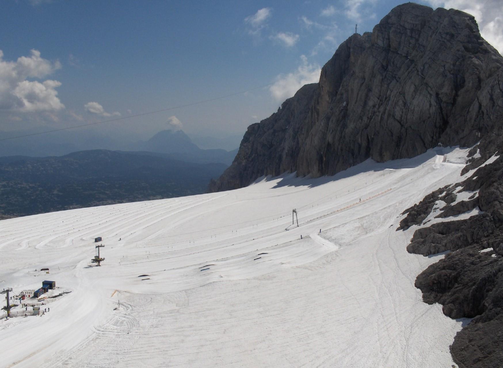 On the Dachstein glacier