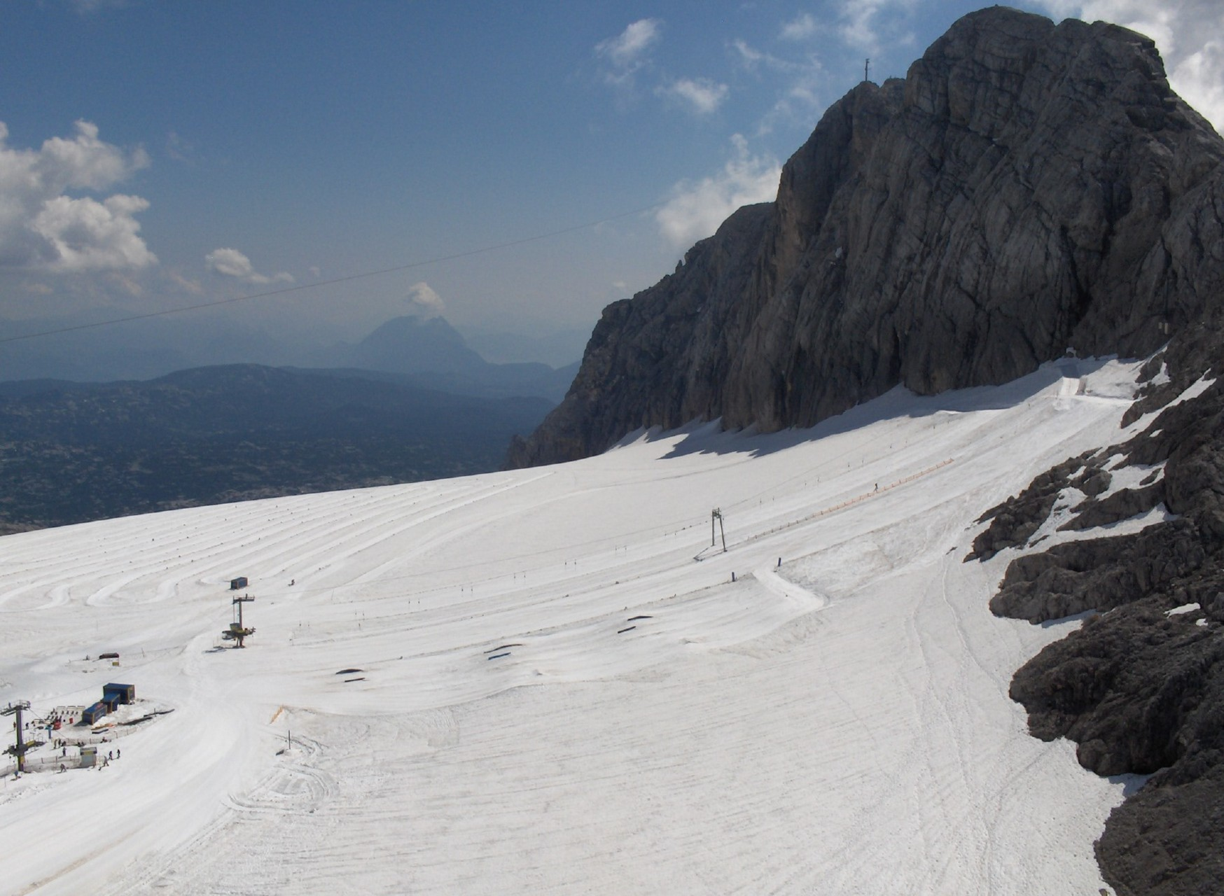 On the Dachstein glacier