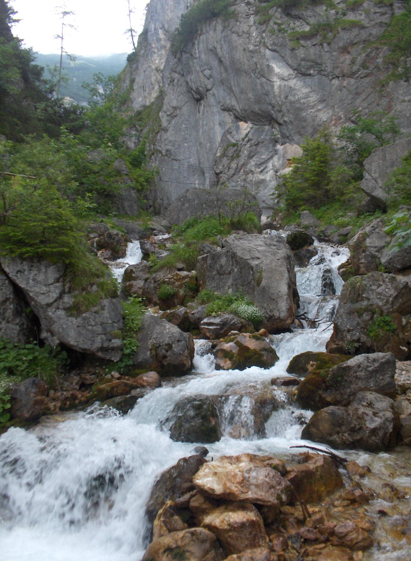 Silberkarklamm Gorge