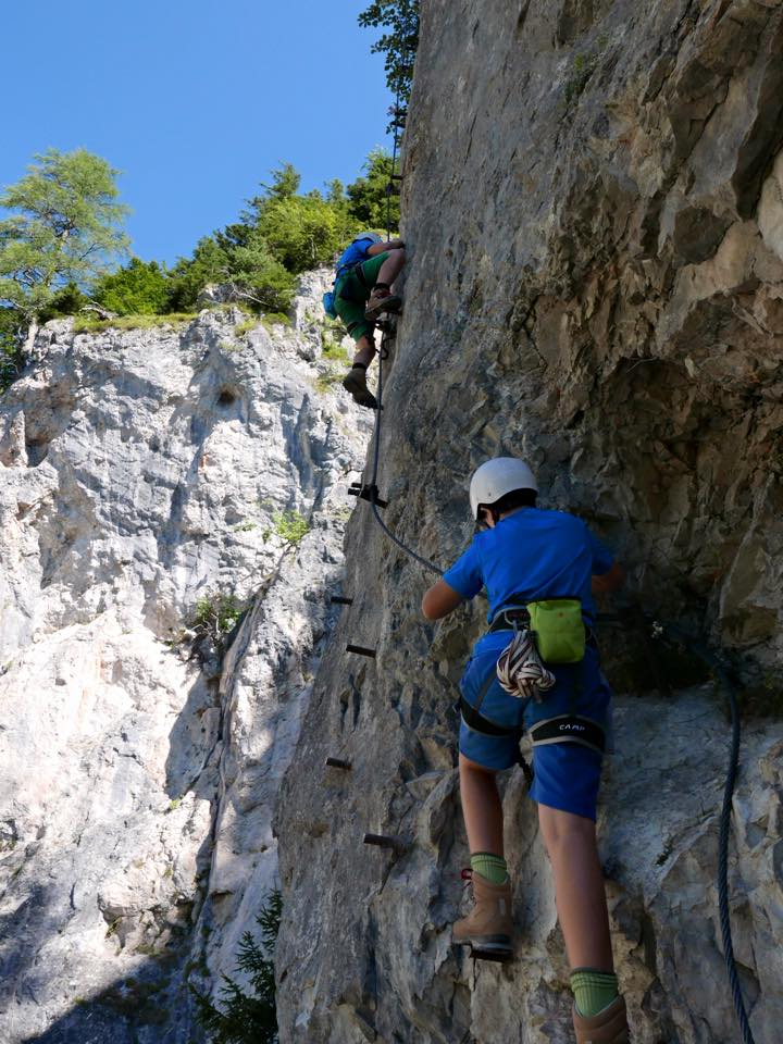 Klettersteig für jedes Alter