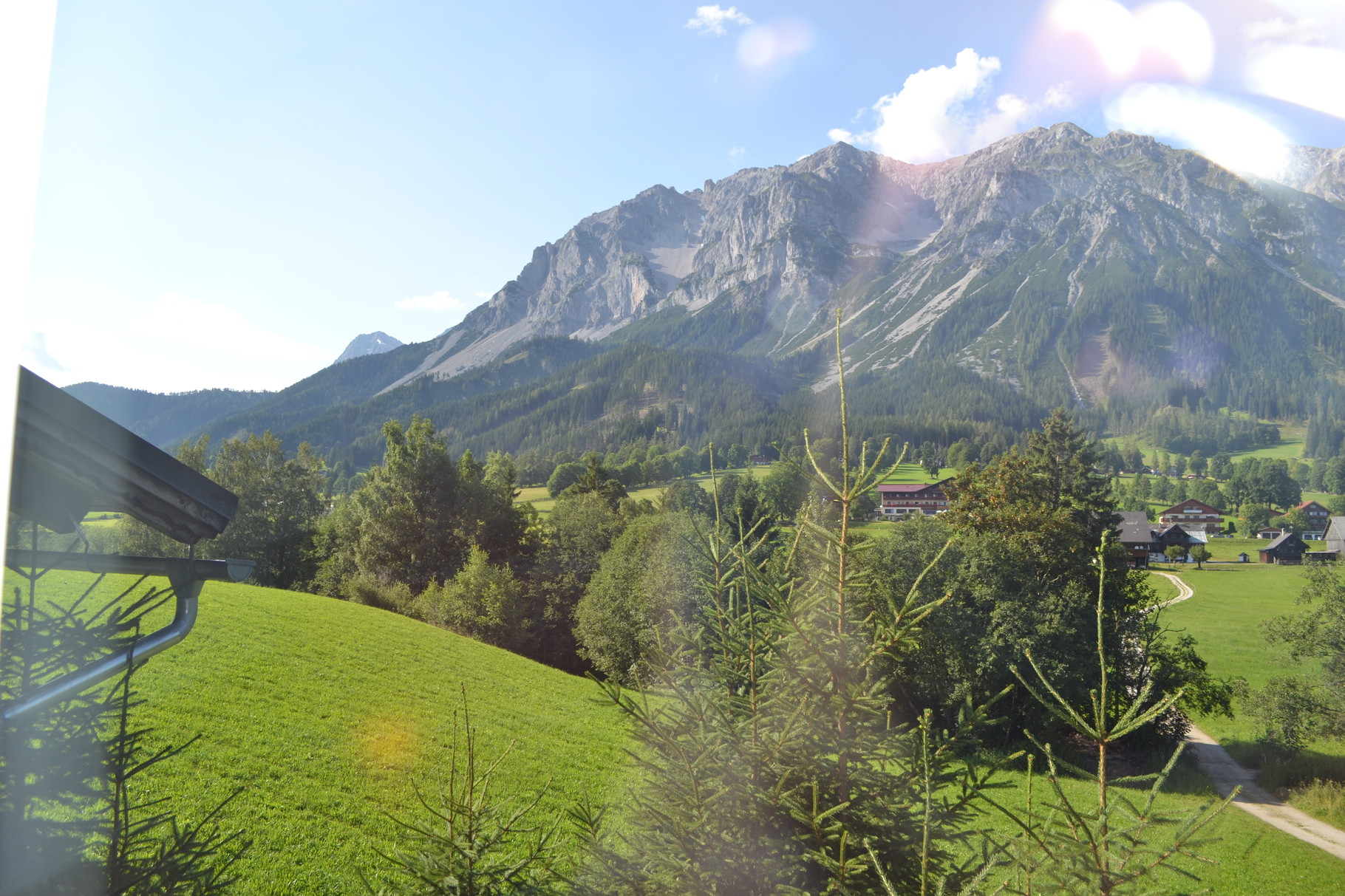 View to the north, to the Dachstein