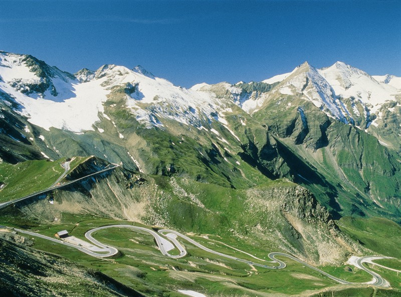 The Grossglockner high alpine pass road