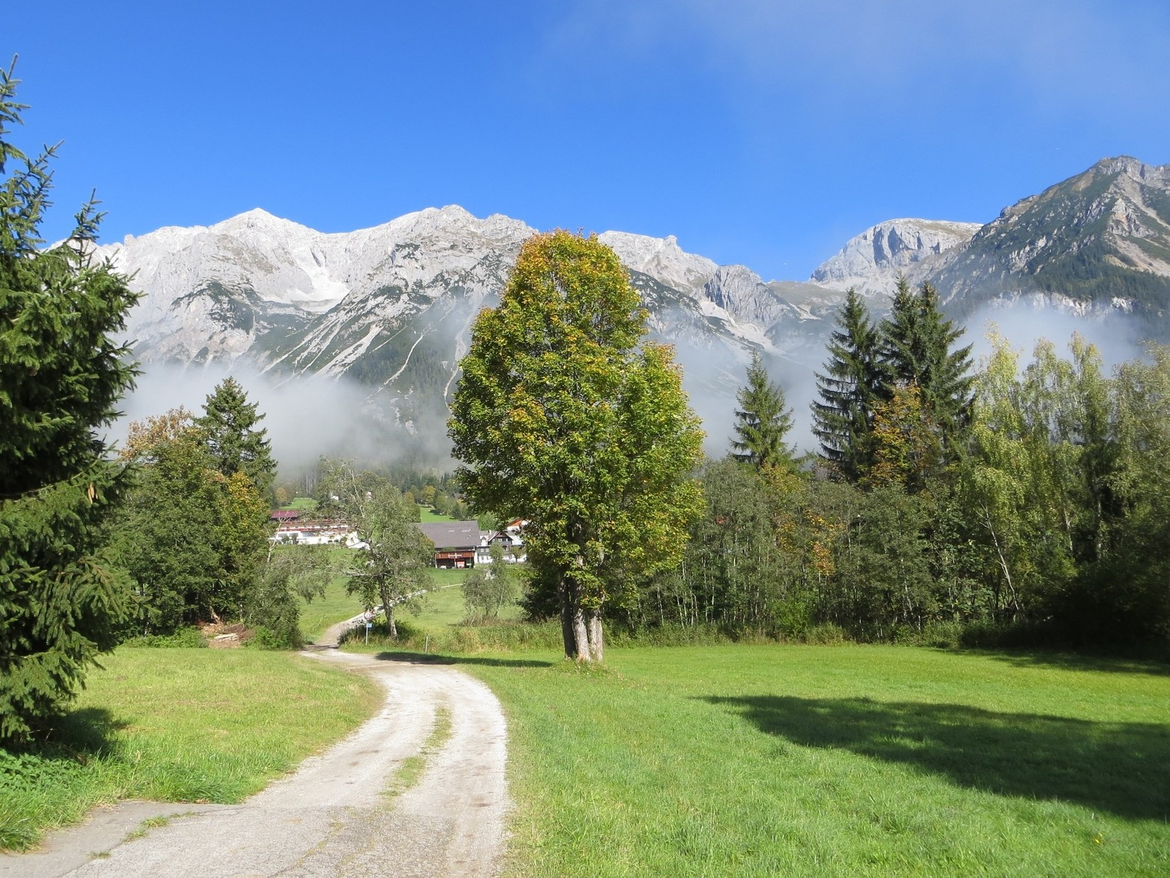 View to the north - to the Dachstein