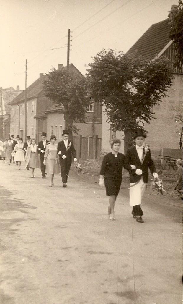 Kirmesgesellschaft 1961/ Archiv Crawinkler- Runde